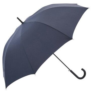 【送料無料】耐風・撥水ジャンプ傘 メンズ ネイビー 紳士傘 雨傘 8本骨 グラスファイバー 直径120cm 父の日 敬老の日 誕生日祝