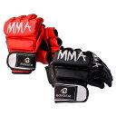 オープン フィンガー グローブ MMA キック ボクシング ...