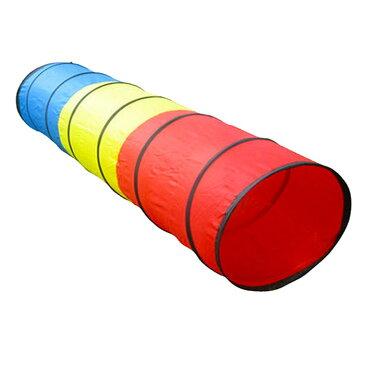 180cmのなが〜いトンネル おもちゃ 知育 色の認識 安全設計 体感を鍛える コンパクト 曲げたり伸ばしたり 伸縮性 じゃばら 室内用 ◇FAM-L4818N-05