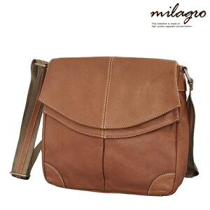 Milagro ミラグロ ダブルフラップ ショルダーバッグ