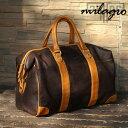 Milagro ミラグロ 本革 牛革 カウハイド オイルドレザー製 ボストンバッグ