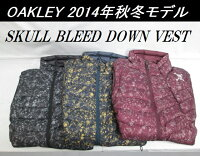 【OAKLEY】オークリーゴルフウェアダウンベストSKULLBLEEDDOWNVESTカラー:JETBLACK(01K)カラー:GRAPHITE(00N)カラー:AUBERGINE(82R)
