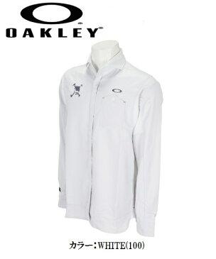 オークリー ゴルフ ウェア スカル シャツ【OAKLEY】SKULL FREQUENT LS SHIRTS【SLIM】カラー:BLACKOUT(02E)カラー:WHITE(100)カラー:SAPPHIRE(68C)401911JPラッキーシール対応