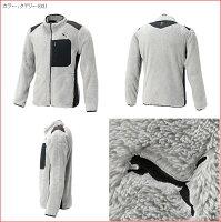 プーマゴルフメンズウェアフリースジャケット【PUMA】ゴルフフリースジャケットカラー:ブラック(01)カラー:ピーコート(02)カラー:クアリー(03)923447