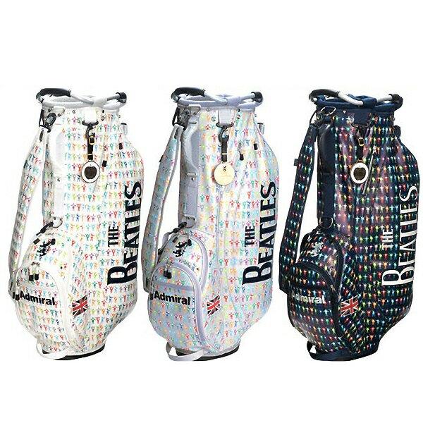 アドミラル ゴルフ キャディバック【Admiral】【限定品】THE BEATLES STAND BAG SETカラー:ホワイト(00)カラー:グレー(19)カラー:ネイビー(30)★ヘッドカバー(DR,FW用)が付属しています。ADMG7SC5送料無料【沖縄・離島 配送不可】画像