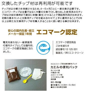 【3日間限定!エントリーでポイント10倍!】ECOCLEAN エコクリーン 「自然にカエル」シリーズ用 交換用カエルの便利パック ECS-150