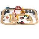 すぐ使えるクーポン配布中 木のおもちゃ コモック限定 BRIO 木製レール ファーム&トレインセット(数量限定品)特製プラケース入り 知育玩具 3歳 FSC認証 おうち時間 子供 入園