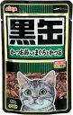 AIXIA アイシア ウェットフードパウチ黒缶パウチ 【かつお節入りまぐろとかつお】 80g