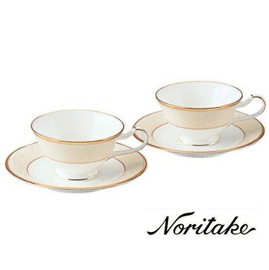 ホワイトパレス ・テイー・コーヒー碗皿ペアセット 【ノリタケ】