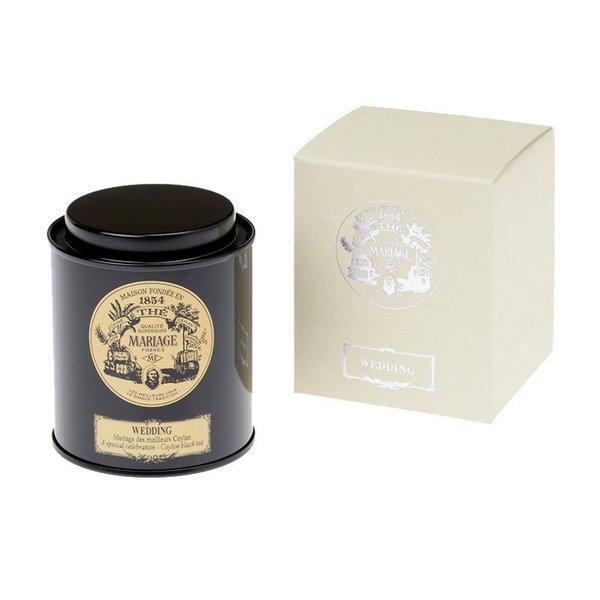 MARIAGEFRERESマリアージュフレール紅茶の贈り物ウェディング50g缶入り披露宴引出物プチギフト内祝飲料飲み物ドリンク紅