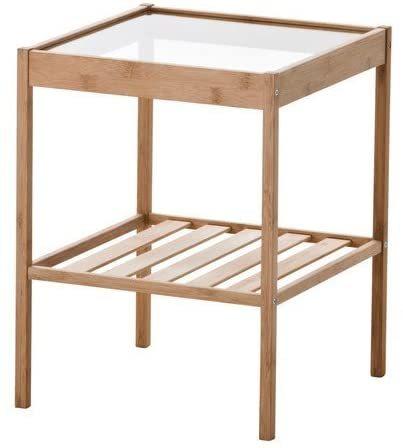 4営業日以内にご対応 NESNAベッドサイドテーブルネスナ36x35cm20247128寝室ベッドルーム机デスクおしゃれ北欧か