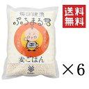 まとめ買い 西田精麦 熊本県産 大麦100%使用 毎日健康 ぷちまる君 1kg×6袋