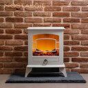 【あす楽 送料無料】ノスタルジア 暖炉型ヒーター【 防寒 暖房 電気ストーブ 暖炉 アンティーク調