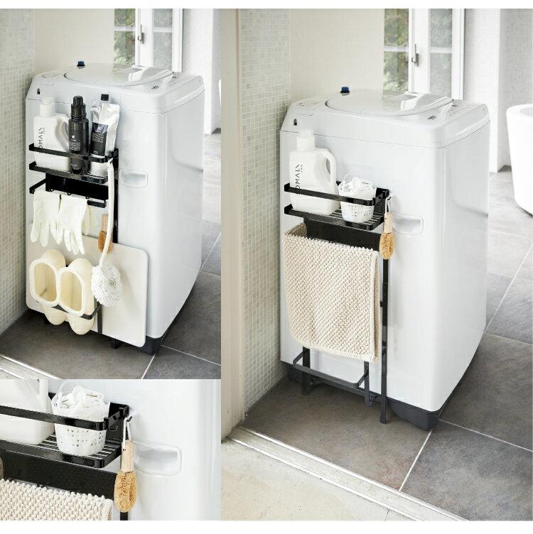 【 あす楽  】洗濯機 横 マグネット 収納ラック タワー 【 ランドリーラック おしゃれ 】LF570B10b000