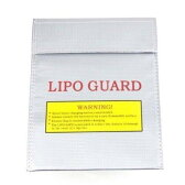 セーフティーバッグ リポバッテリー LiPo Guard 防炎/ 防災 /サバゲー/ キャンプ/ アウトドア/サバイバルゲーム/耐熱/耐火/防炎バッグ
