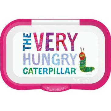 ビタットプラス ウェットシートのフタ はらぺこあおむし ピンクテクセルジャパン Bitatto ウェットシート ウェットティッシュ 汗ふきシート 蓋 ふた フタ The Very Hungry Caterpillar ホワイト 白 ピンク