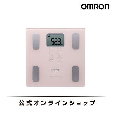 オムロン 公式 体重体組成計 体重計 デジタル 体脂肪率 カラダスキャン ピンク HBF-214-PK 期間限定 送料無料