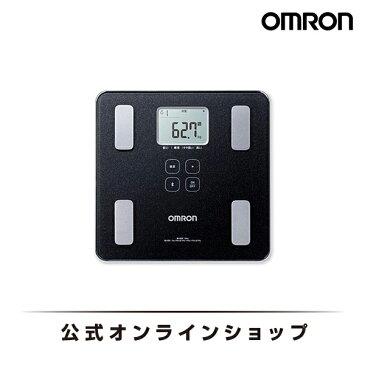 オムロン 公式 体重体組成計 体重計 デジタル 体脂肪率 HBF-227T-SBK シャイニーブラック 送料無料