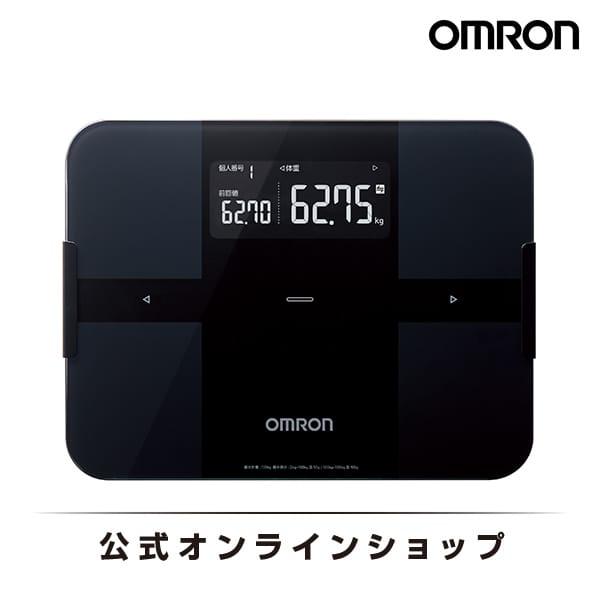 オムロン 公式 体重体組成計 体重計 ブラック HBF-256T-BK Bluetooth通信対応 送料無料