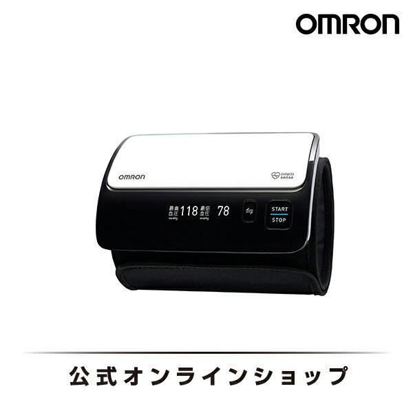 オムロン 公式 上腕式血圧計 ホワイト HEM-7600T-W チューブレス コンパクトモデル 送料無料