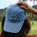 [SEVEN ISLAND] 【HAT001 DNM】【HAT002 BLK】【HAT003 PNK】【HAT004 NVY】【HAT005 SND】 Aloha Hat/アロハハット【アロハ】【ハワイ】【ALOHA】【HAWAII】【セブンアイランド】【キャップ】【帽子】
