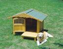 *【送料無料(一部地域除く)!!】アイリスオーヤマ ロッジ犬舎RK-1100 (ペット用品・犬小屋・犬舎・ハウス)
