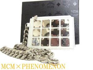 RM未使用品MCM PHENOMENONウォレットチェーン 財布 マルチポーチ0219【中古】フェノメノン