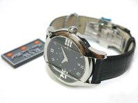 未使用品RSWラマスイスウォッチクオーツ式メンズ腕時計黒0539【】