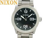 美品NIXONニクソンA276-000クオーツ メンズ 腕時計 黒文字盤0560【中古】THE PRIVATE プライベート