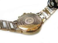 未使用Guy-Larocheギラロッシュクオーツレディース腕時計1245【】クロノグラフピンクゴールド