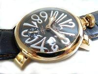ガガミラノマヌアーレ48腕時計手巻メンズ5011.07S0330【】GaGaMILANO