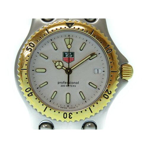美品 タグホイヤー セルシリーズ 395.813-1 プロフェッショナル クオーツ ボーイズ 腕時計 男女兼...