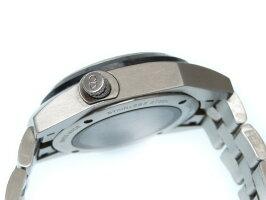 世界限定200本 ディオールオム シフルルージュ 自動巻き メンズ 腕時計  シルバー 黒文字盤 0350【中古】Dior HOMME