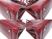 美品 エルメス バーキン30 ニロティカス マット ルージュアッシュ ハンドバッグ □F刻印 0188【中古】HERMES 2002年製 赤