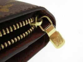 ルイヴィトン モノグラム ポルト パピエ ジップ M61207 二つ折り財布  0515【中古】LOUIS VUITTON レディース