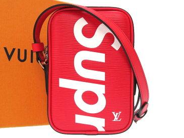 未使用 ルイ ヴィトン × シュプリーム エピ ダヌーブPPM レッド 17AW M53434 ショルダーバッグ バッグ 2017年限定 赤 LV 0106 【中古】 LOUIS VUITTON × Supreme