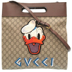 Unused Gucci Neo Vintage Donald Duck GG Supreme 463491 2WAY Handbag Bag 0096 [Used] GUCCI