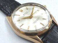 Eロレックスオイスターパーペチュアル1025自動巻き腕時計0426【中古】ROLEXメンズアンティーク1954年