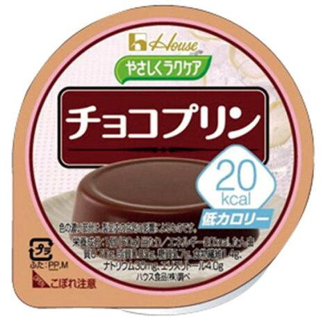 コクがあるのに低カロリー やさしくラクケア20kcal チョコプリン 86892 60g