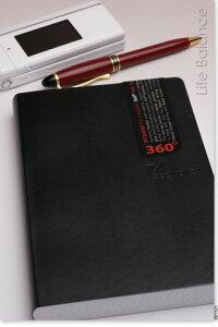 銀座 伊東屋 ZEQUENZ ノートジークエンス360 方眼 L (ブラック) ZQ003