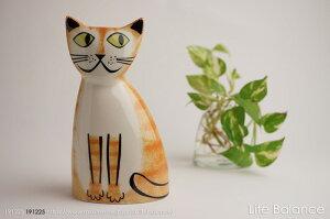 Hannah Turner ハンナ ターナー(イギリス)ねこ 貯金箱 Money Boxes Cat Ginger Tabby 15003000