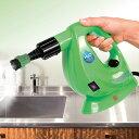 H2O スチームクリーナー FX 8点デラックスセット グリーン レッド