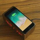 ワイヤレス充電対応クロック