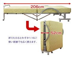 電動ベッドセミダブル極厚高反発スプリングマット仕様収納式電動リクライニングベッド送料無料