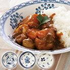 【送料無料】〈オーチャード〉スープ&カレー皿3柄組