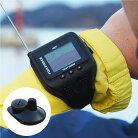 腕時計型魚群探知機