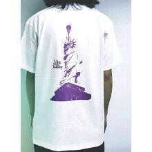 LifeisaJourneyボックスロゴプリントTシャツクルーネック半袖ダンスカジュアルコットン送料無料ストリートブランドメンズレディース綿100%色違いユニセックス彼氏彼女サーファーホワイトブラック人気トレンド