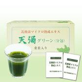 桑の葉+乳酸菌培養エキスの青汁 天彌グリーン(あまみグリーン)1箱60包入り 送料無料 腸内フローラ 乳酸菌生産物質 10P03Dec16