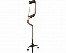 らくらく4点杖 スモールS 0401-CS1152 インターリンクス 杖 自立式 多点杖 杖 4点 杖 ステッキ 倒れない