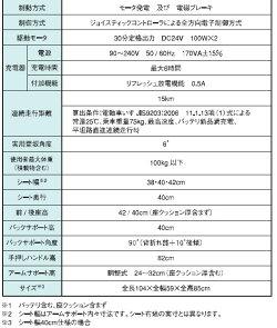2分割コンパクト6輪電動車いすNEO-PR45/NEO-PR60【日進医療器】
